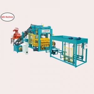 QT8-15A type full automatic block forming machine