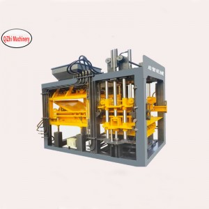 QT6-15B type fully automatic forming block machine