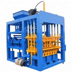 QT4-15 hollow concrete brick making machine pakista